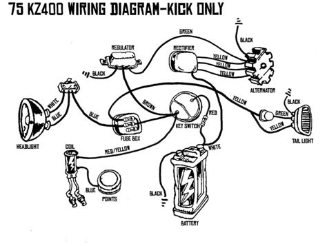Wire Diagram 1975 Kz400 by 57 Best Images About Chops Scoots Bobs On