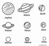 Planets Planet Coloring Pages Solar System Drawing Printable Space Sheets Cool2bkids Rocks Scale Colors Relative Outline Templates Drawings Nine Paintingvalley sketch template