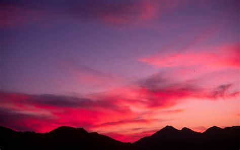 omani sunset beautiful clouds colors desert mountains