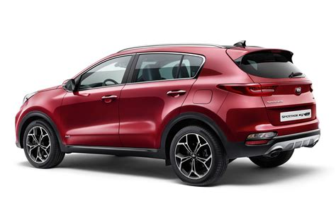 Kia Sprotage new 2018 kia sportage tweaks include new mild hybrid