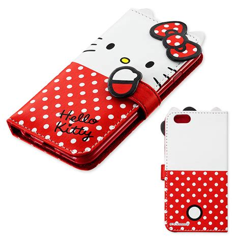 hello kitty iphone hello kitty bifold iphone 6 soft cover w card pocket