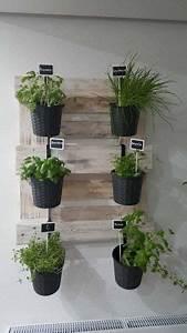 Kräutergarten In Der Wohnung : herb shelf palettenm bel ravenna from pallets wine rack ~ Watch28wear.com Haus und Dekorationen
