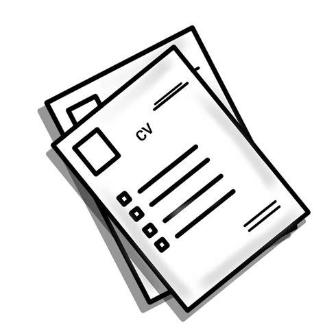 free illustration resume cv hr experience free