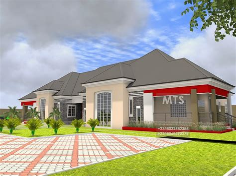 Mr Kunle 5 Bedroom Bungalow  Modern And Contemporary