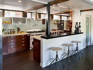 modern rustic kitchen modern kitchen los angeles With kitchen cabinet trends 2018 combined with white pillar candle holder