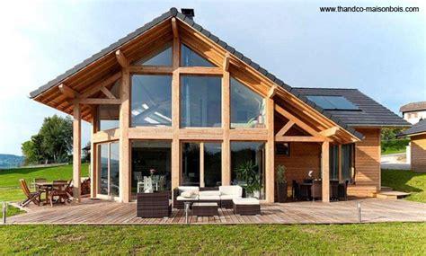 maison en bois auvergne diff 233 rents principes de construction en bois madrier ossature