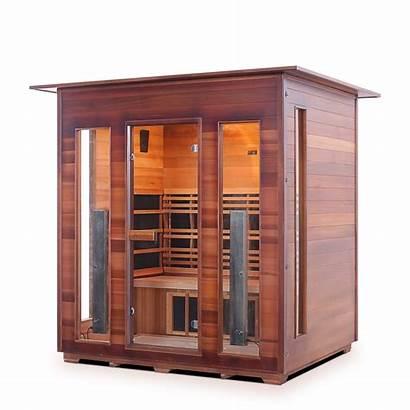 Enlighten Indoor Rustic Diamond Sauna Infrared Spectrum