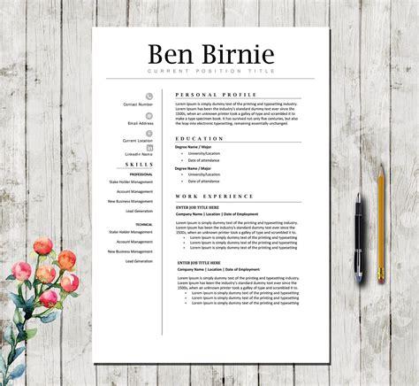 12319 modern executive resume template executive resume template resume template for word