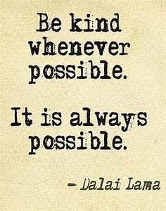 The Dalai Lama: On Kindness | My Incredible Website