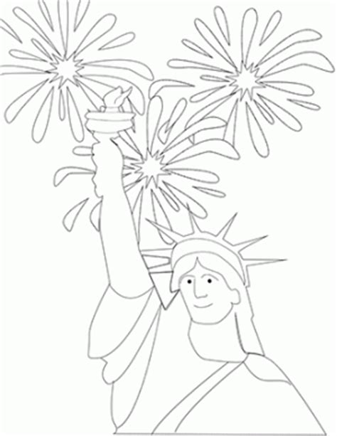 fourth  july coloring pages