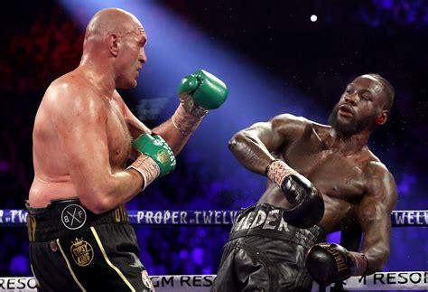 Tyson Fury vs Deontay Wilder 2 breaks £13m gate ticket ...