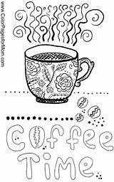 Coloring Coffee Pages Adult Adults Sheets Theme Printable Doodle Books Tea Themed Wine Cup Colouring Colorpagesformom Cups Advanced Colour Discover sketch template