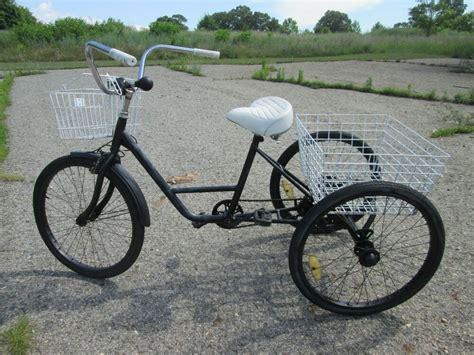 Duty Three 3 Wheel Trike Bicycle With Work