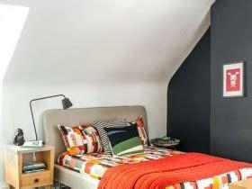 Спальни со скошенным потолком фото дизайна интерьера