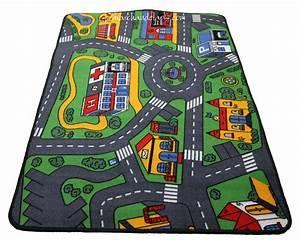 tapis enfant circuit voiture 93cmx133cm marchand de With tapis enfant circuit voiture