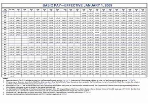 Military Retirement Pay Table 2018 Wallseat Co