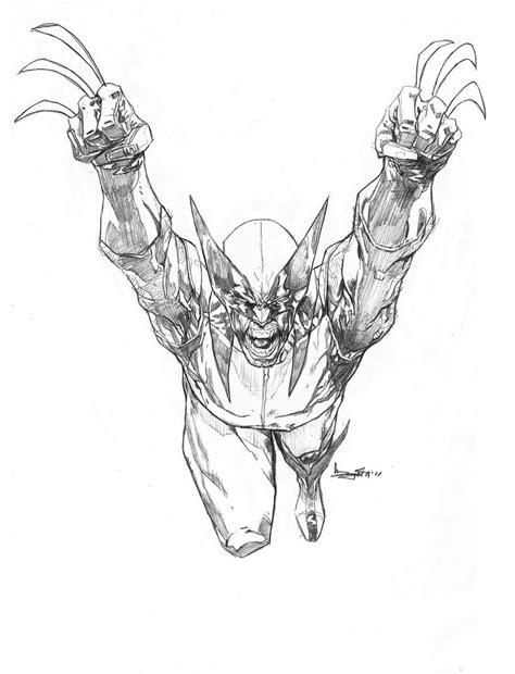 Wolverine - Barnaby Bagenda | Comic book artwork, Marvel