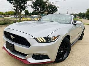 2017 Ford Mustang EcoBoost Premium Convertible RWD for Sale in Greenville, TX - CarGurus