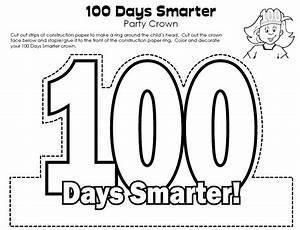 pin 100th day of school crown link super teacher With 100th day hat template