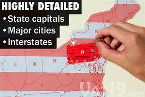 Detailed Map Of Usa States And Cities - www ...
