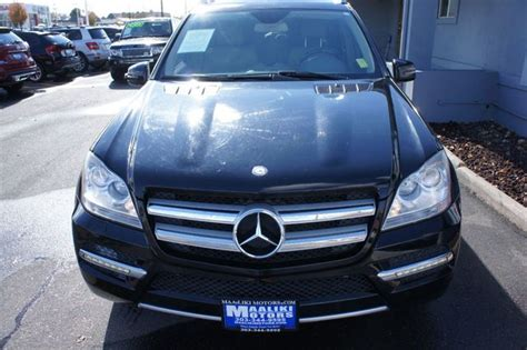 Sitting in the driver's seat is like reclining inside a texas longhorn, minus the total darkness and. 2012 Used Mercedes-Benz GL-Class GL450 4MATIC at Maaliki Motors Serving Aurora, Denver, CO, IID ...