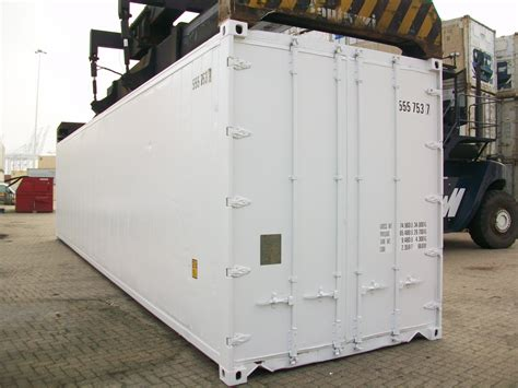 Used 40 Foot  Refrigerated Non Operational Shipping