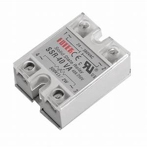 Solid State Relay Ssr 40va 40a 470 560k Ohm To 24 380v Ac