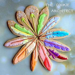 Feather Mandala The Cookie Architect