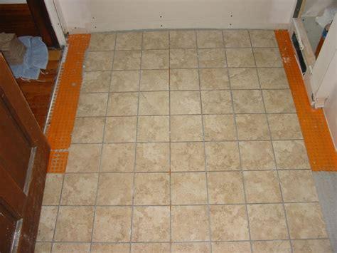 underlayment for vinyl tile in bathroom how to install sheet vinyl flooring ceramic tile ehow
