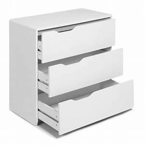 Console Blanche Pas Cher : cool commode blanche 3 tiroirs achat vente commode pas ~ Dailycaller-alerts.com Idées de Décoration