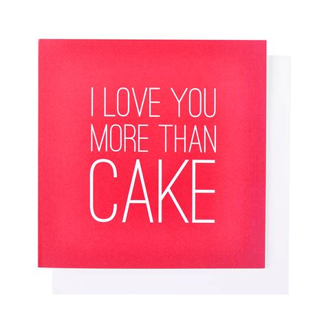 I Love Cake Decorating by I Love You More Than Cake Card Rock Bakehouse