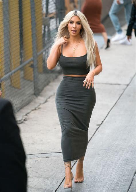 kim kardashian long skirt kim kardashian  stylebistro