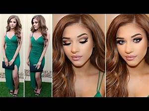 Wedding Guest Makeup Hair Outfit YouTube