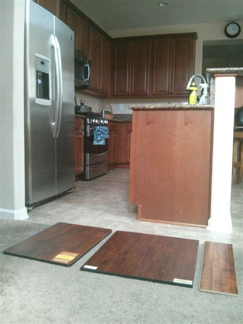 pro kitchen cabinets need help matching the flooring color to cabinets 1662