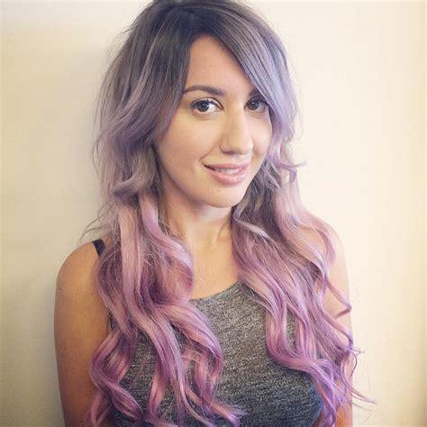 Lavender Lilac Pink Pastel Hair Colors Ideas