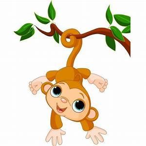 Cute Funny Cartoon Baby Monkey Clip Art Images. All Monkey ...