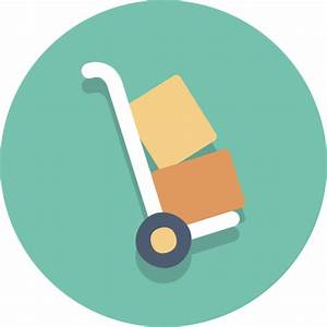 Delivery, dolly, hand truck, packages icon | Icon search ...