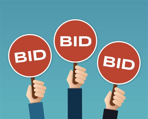 bid auctions 187 the stalking bid protections the auction credit