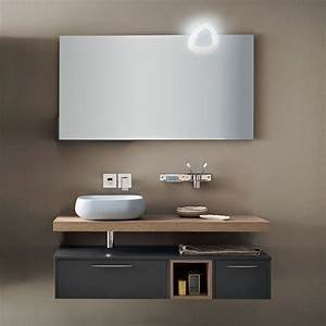 Lavandino per bagno con mobile blizzard 22 arredaclick for Mobili lavandino bagno