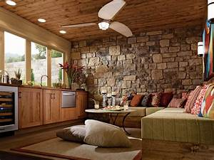 KraftMaid Family Great Room – Contemporary style with