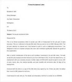 Formal Letter Format Example