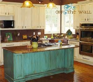turquoise kitchen island turquoise island and antique white cabinets yes kitchen kitchen colors