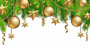Christmas Border Decor PNG Clipart Image | Gallery ...