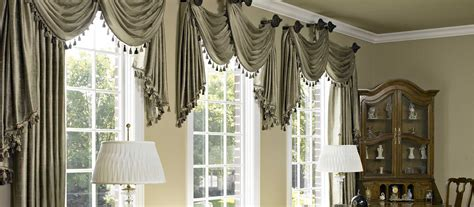 Custom Window Drapes by Custom Window Treatments Curtains Shades Blinds And