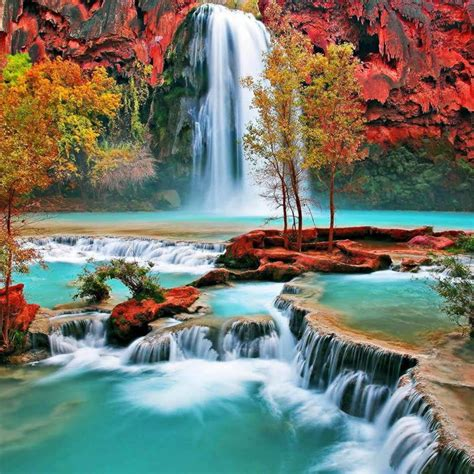 mobile waterfall flow wallpaper full hd pictures