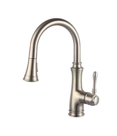 moen pull out kitchen faucet a 726 bn single handle brushed nickel kitchen faucet