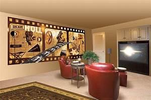 Cinema Room Art & Graphics, Home Wall Graphics & Effects