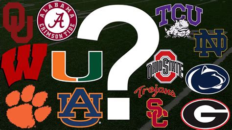 blind resume test college football playoff contenders