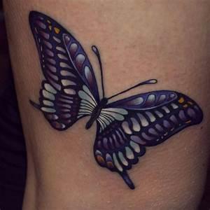 Kleiner Schmetterling Tattoo : tatuajes de parte trasera del hombro mariposas and tatuaje en hombro on pinterest ~ Frokenaadalensverden.com Haus und Dekorationen