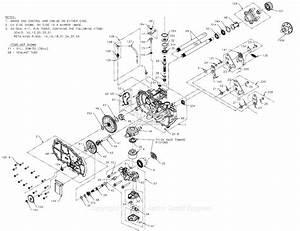 Hydro Gear 792895 Parts Diagram For Service Schematic
